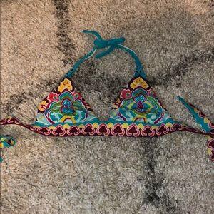 Victoria's Secret patterned bathing suit top!